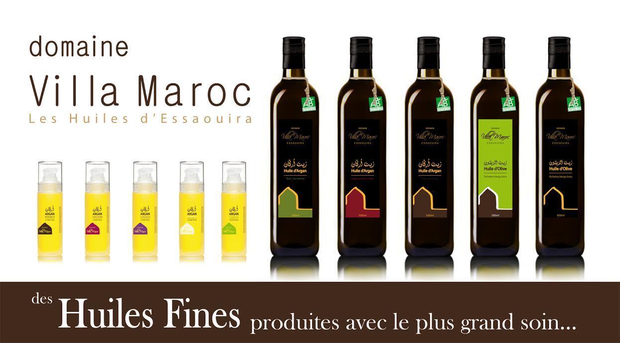 Les huiles d'Essaouira Villa Maroc